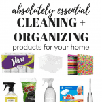 My Favorite Cleaning + Organization Products