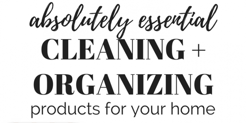 The Best Cleaning Organization Products For Your Home