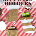 DIY Stocking Gift Card Holder