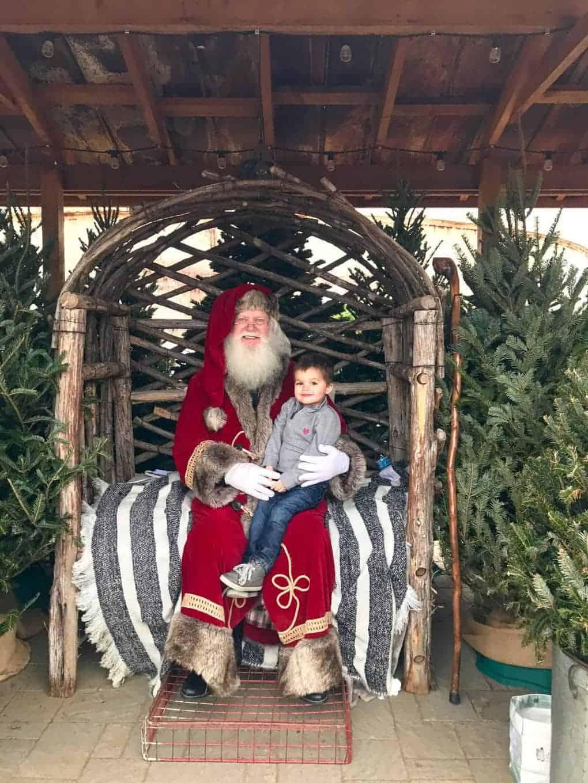 Santa at Magnolia Market