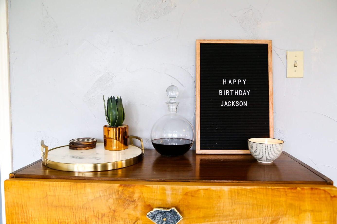 Jackson\'s Frozen Third Birthday Party   Love & Renovations