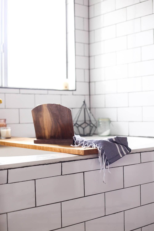 Diy Bathtub Tray Turn Your Bathroom Into A Spa Love