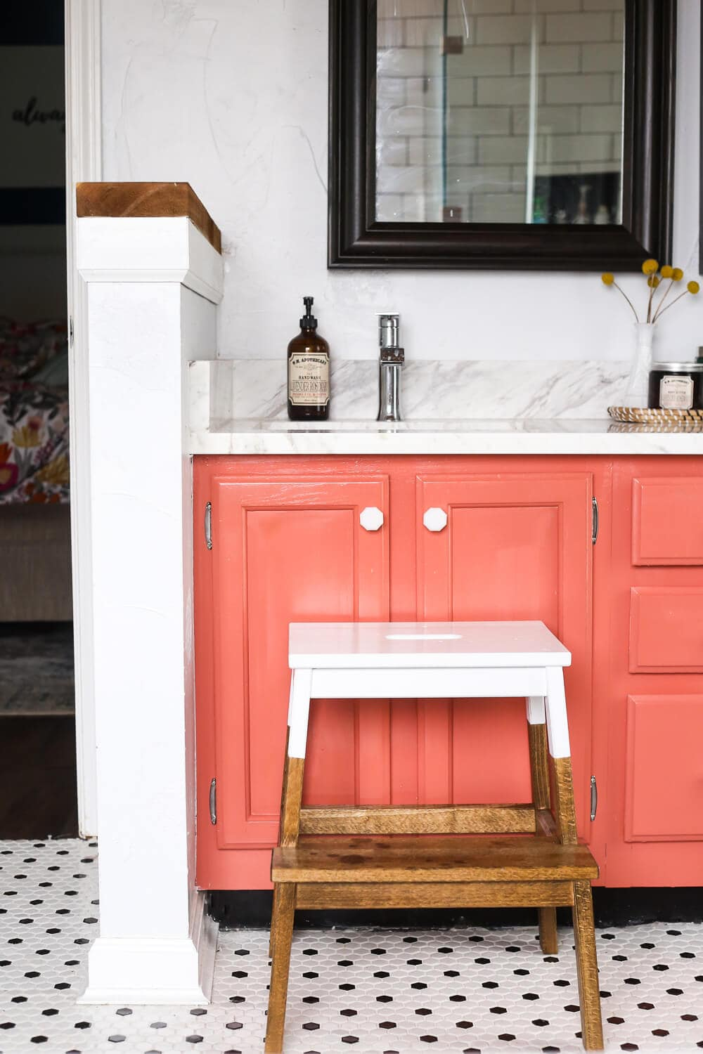 Easy IKEA Hack! How To Turn This BEKVAM Stool Into A Gorgeous, Farmhouse  Inspired Part 73