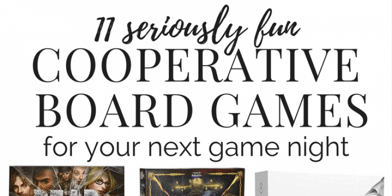 Cooperative board games to play with your friends, family, or on date night. Board games are a great way to spend time together, and these are the best board games for adults to play together!