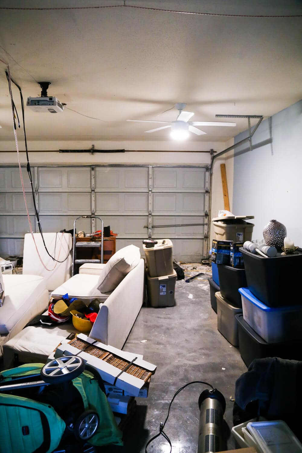 converting a room back into a garage