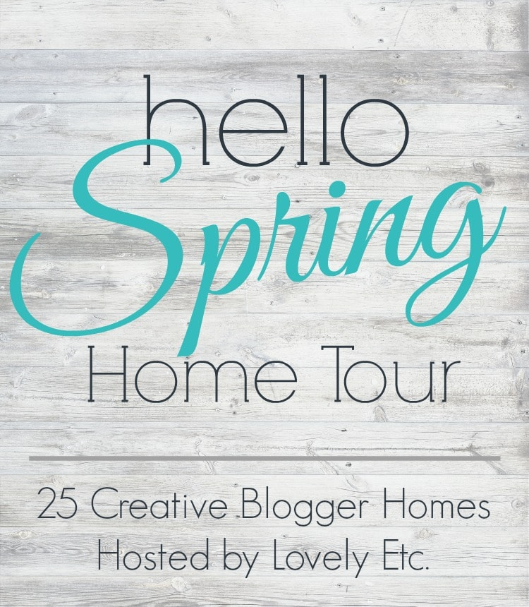 A roundup of bloggers sharing their gorgeous spring home tours. Tons of information, ideas, and inspiration for your home this spring.
