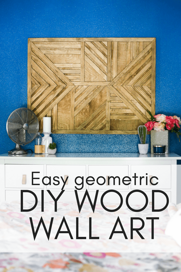 How to build a wood wall art piece for your home