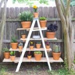 DIY Tiered Ladder Garden