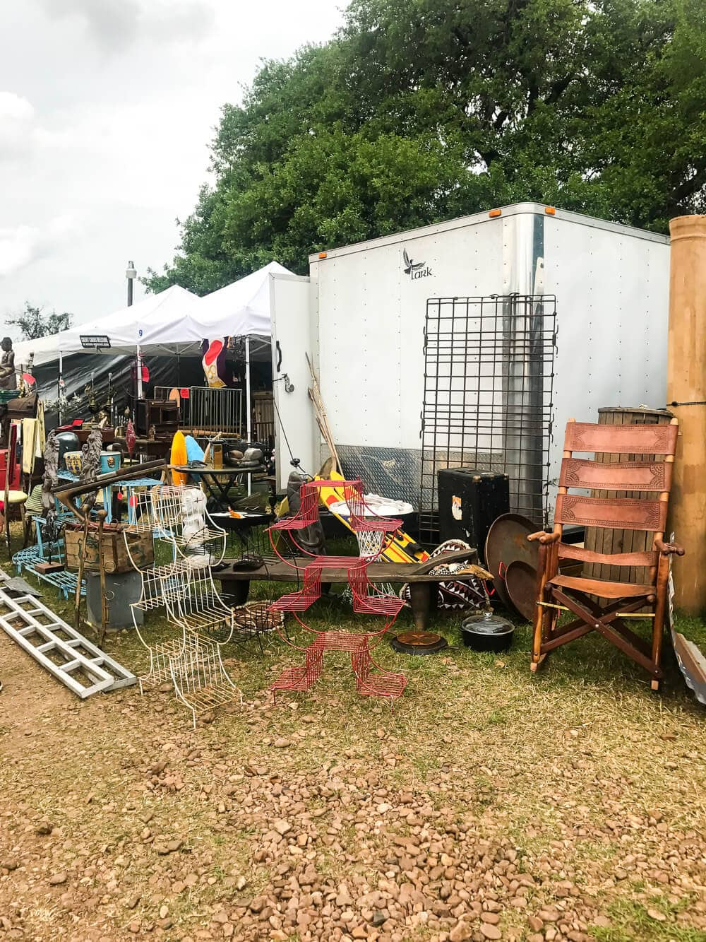 A trip to the spring 2017 Round Top Antique Show - details on all the awesome finds, beautiful antiques, and a new craze we stumbled on!