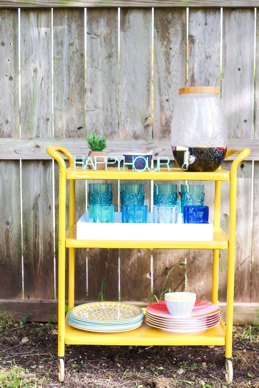 Gorgeous Diy Backyard Bar Cart