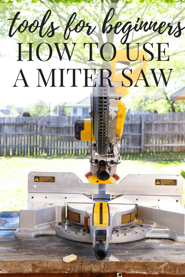 A great series on using power tools for beginners. Great if you're uncomfortable with using tools - how to use a miter saw to make cuts, including mitered angles!