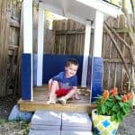 DIY Outdoor Playhouse