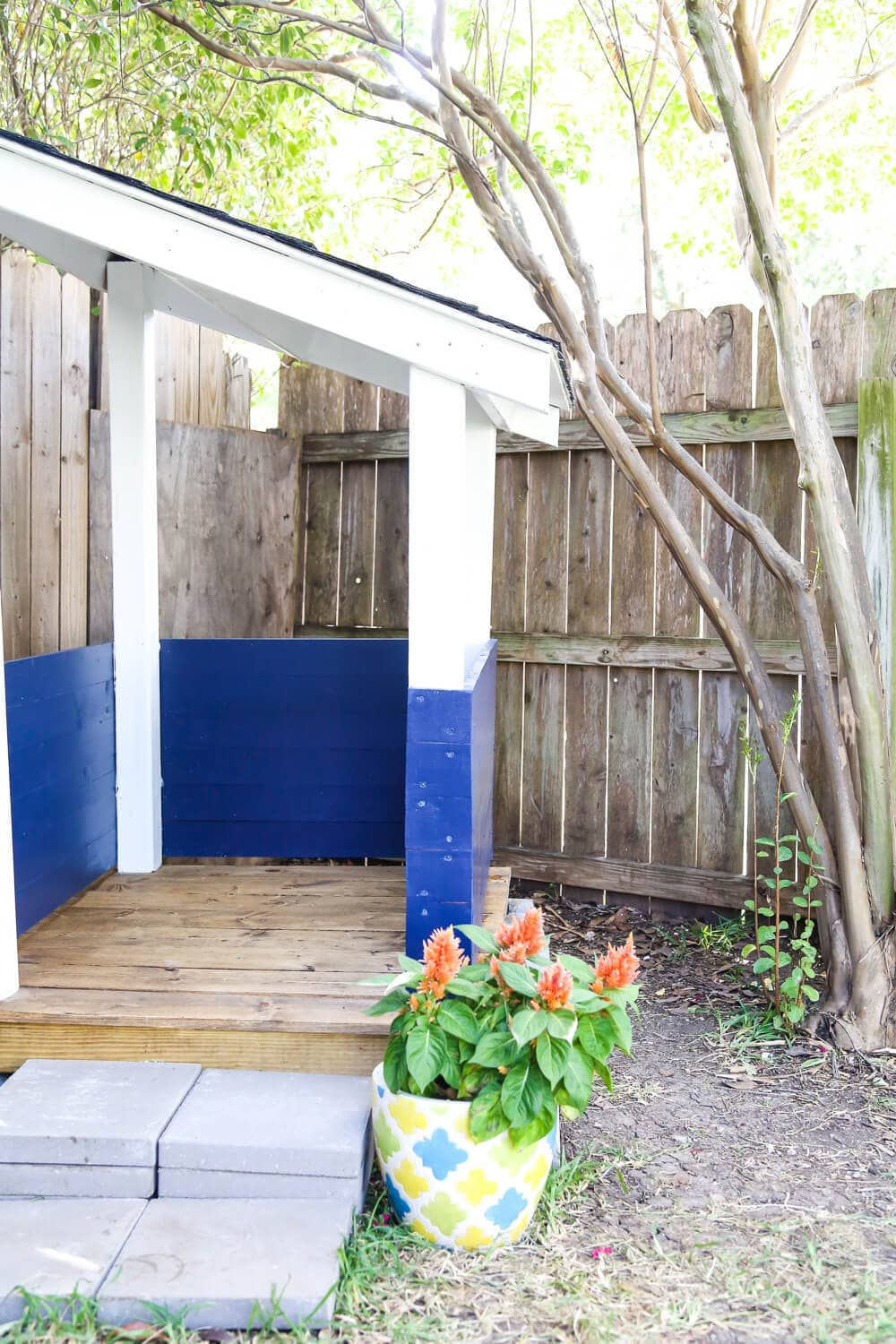 How To Build An Adorable Backyard Playhouse