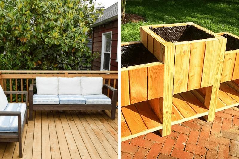 diy outdoor furniture 12 great ideas love renovations