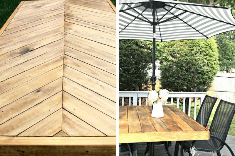 A roundup of beautiful DIY outdoor furniture tutorials