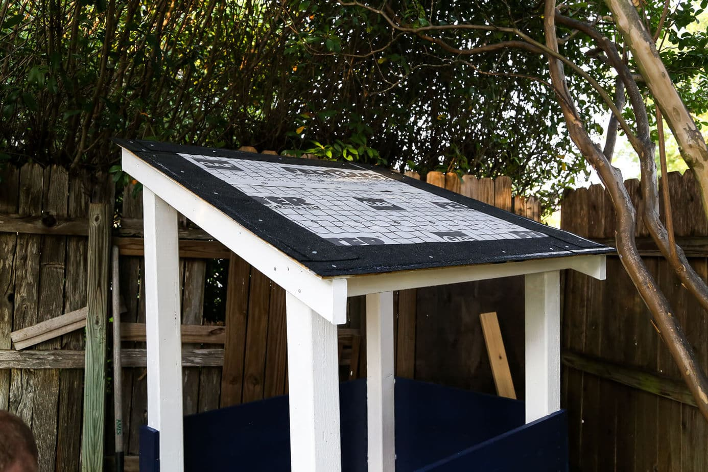 How To Shingle A Roof For A Backyard Playhouse Love