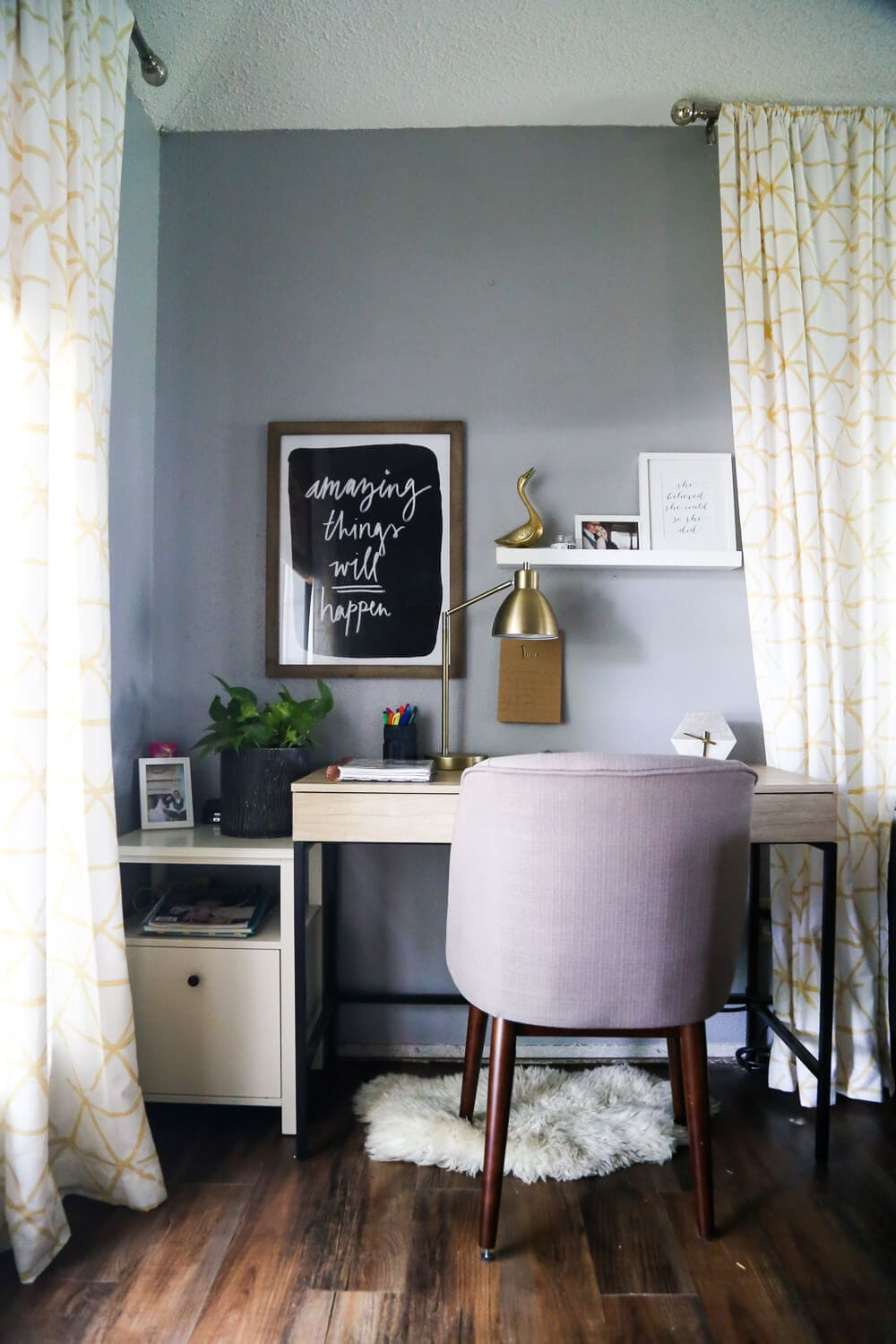 Keeping The Home Office Organized Love Renovations