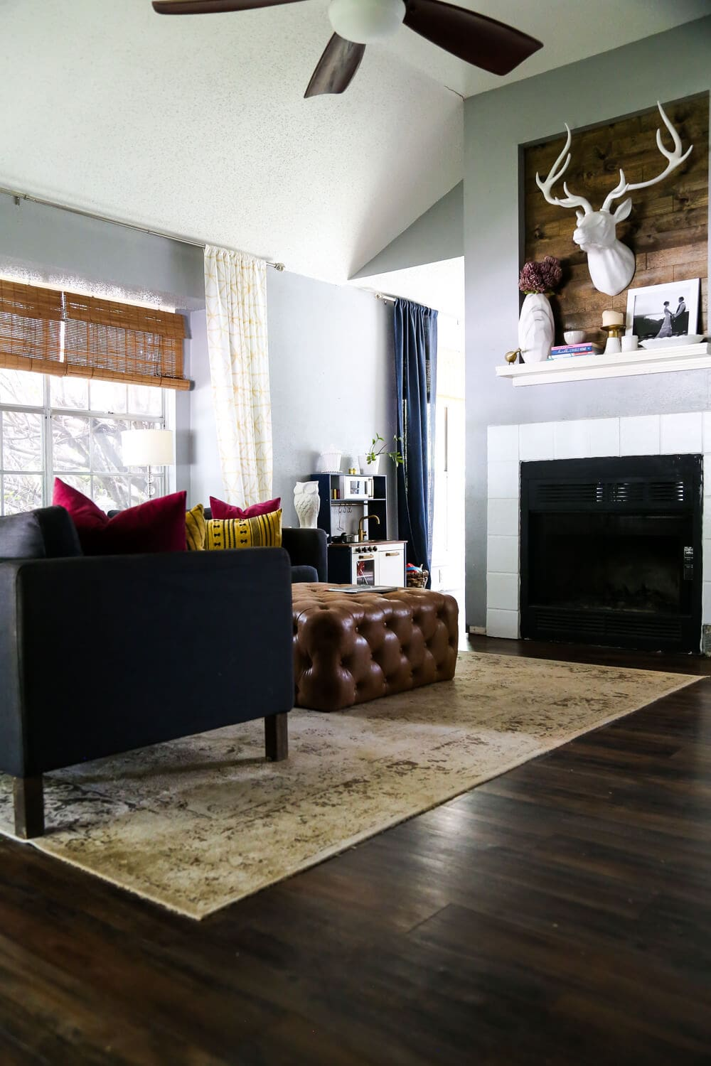 A gorgeous living room tour, with ideas on how to fix design mistakes you're making and turn your space into exactly what you want!