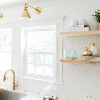 A gorgeous kitchen renovation, along with a lot of other inspiring links and DIY ideas