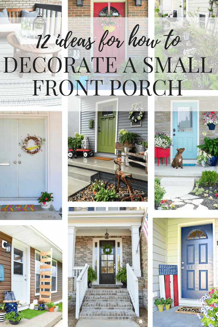 Small Front Porch Ideas How To Decorate A Porch Love Renovations