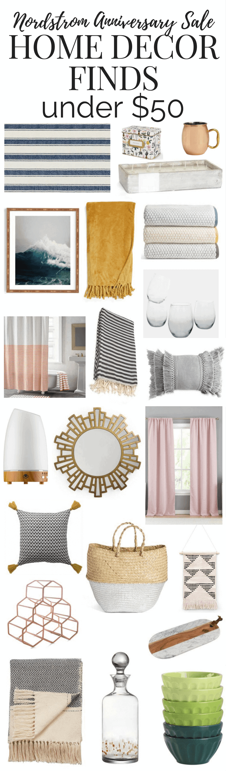 More than 20 gorgeous home decor finds from the Nordstrom Anniversary Sale - all under $50!