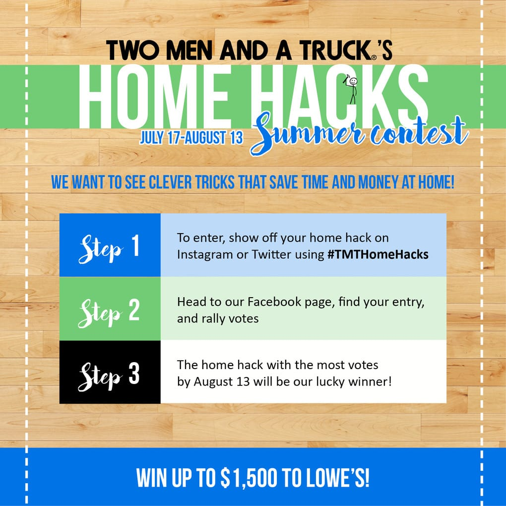 10 quick and easy hacks for your home to save you both time and money. Who doesn't love a good life hack?!