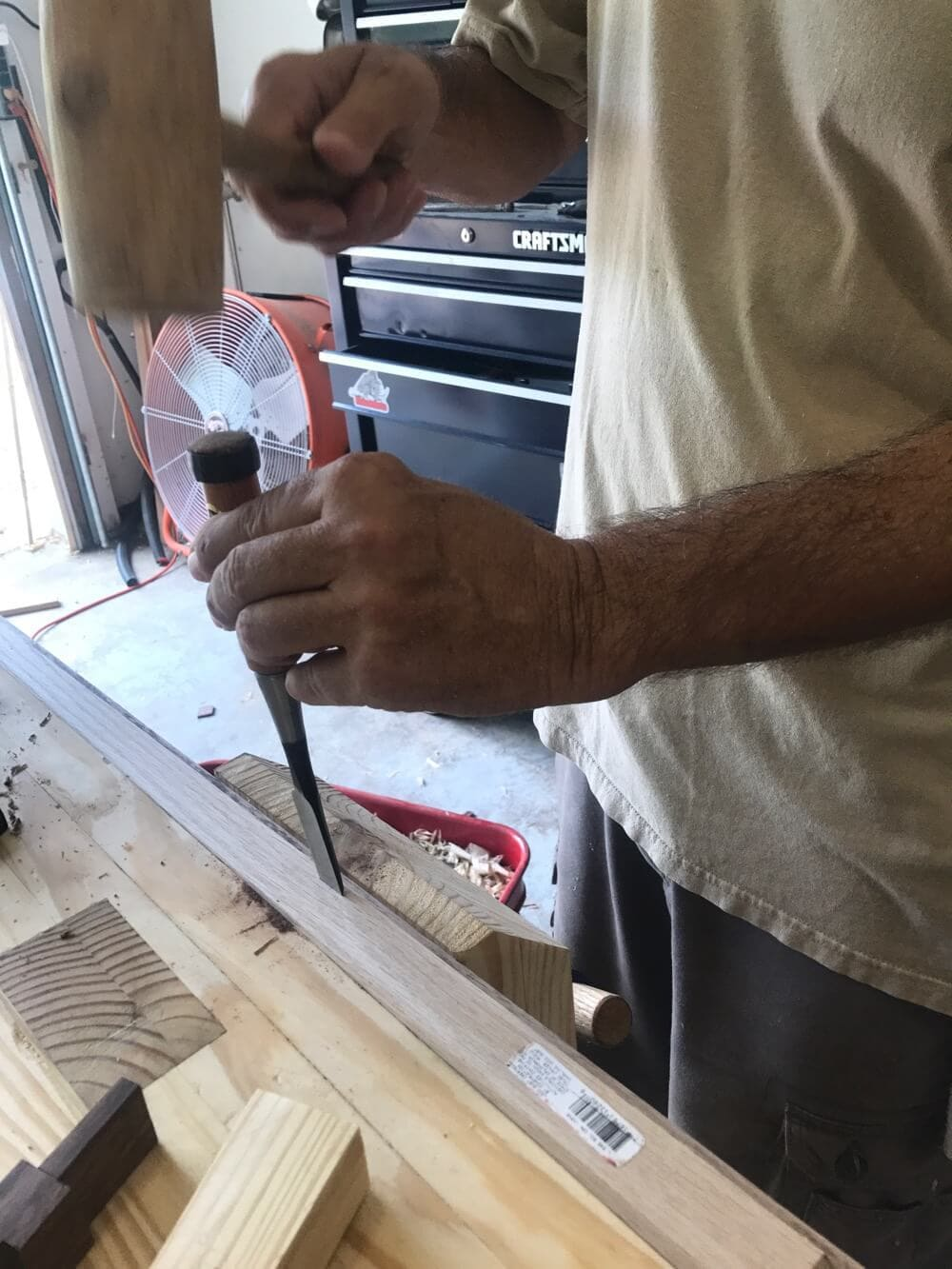How to frame out an old builder-grade mirror to make it look completely custom. It's very easy, affordable, and a great DIY project to upgrade your bathroom!