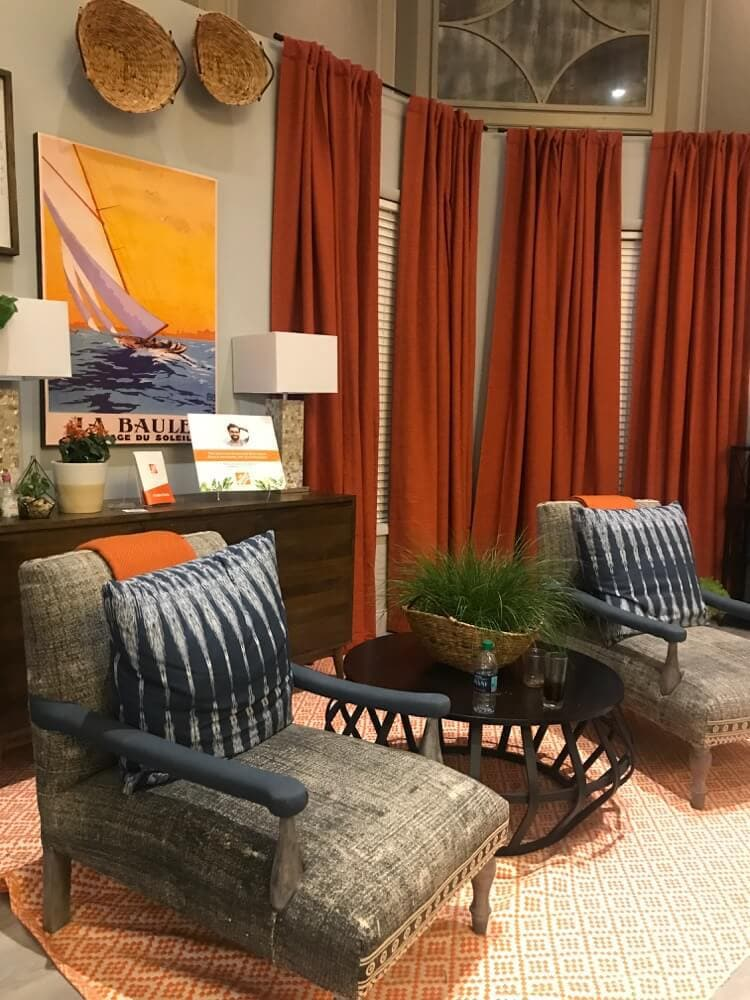 A peek at the booths at the 2017 Haven Conference for DIY and home decor bloggers