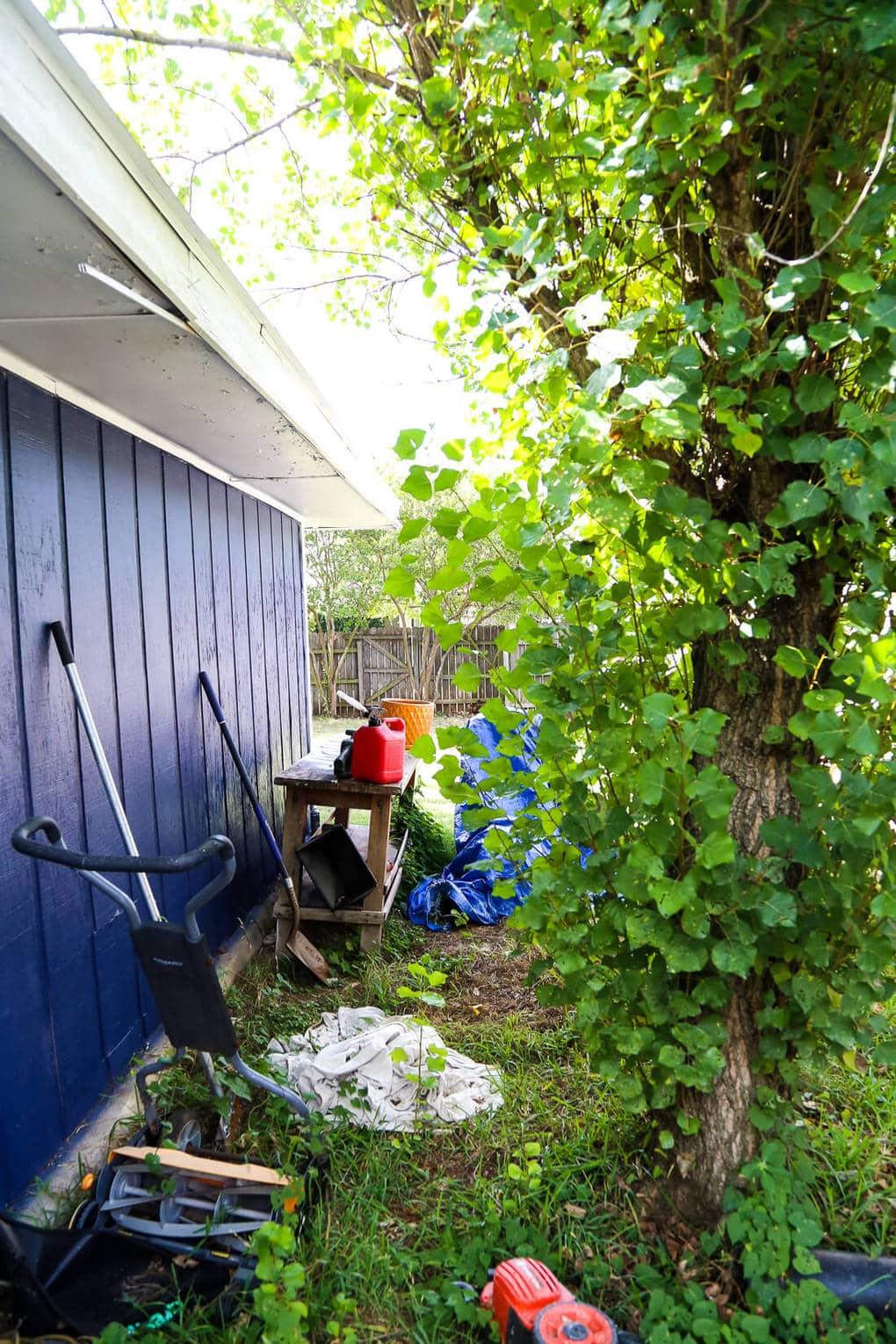 a quick backyard clean up with ryobi love u0026 renovations
