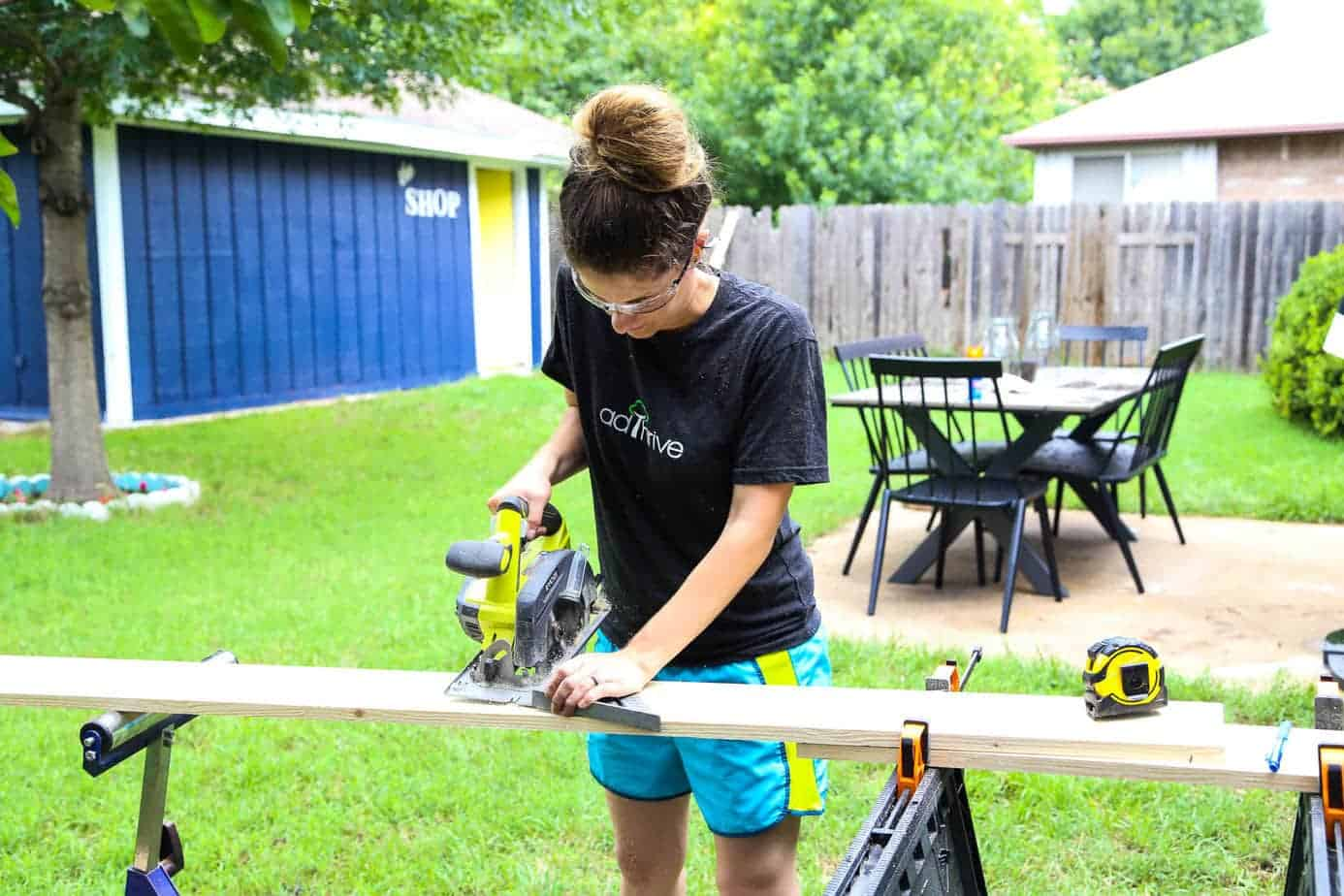 How to Use a Circular Saw (Tools for Beginners) - Love