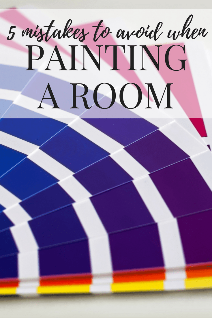 How to paint a room - tips and tricks, mistakes to avoid, and ideas for how to make the process way easier!