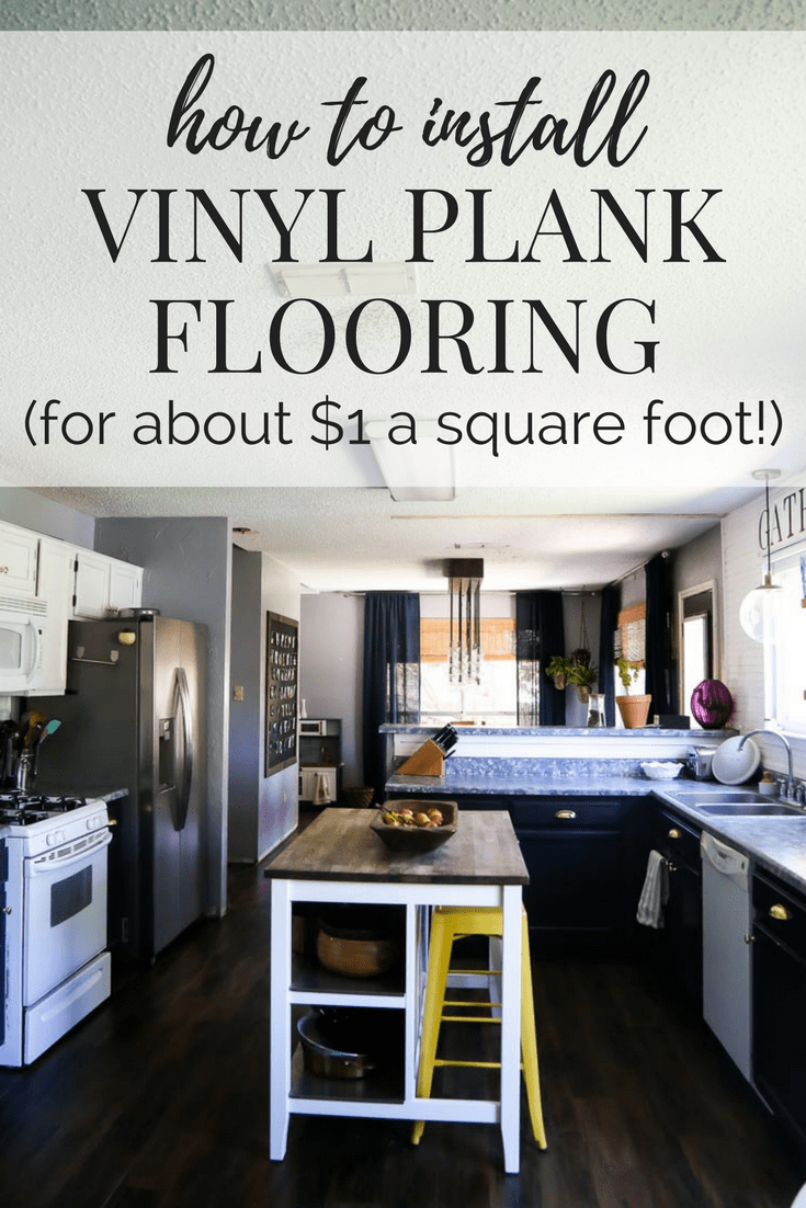 A Tutorial On How To Install Vinyl Plank Flooring In Your Home. This Post  Shares