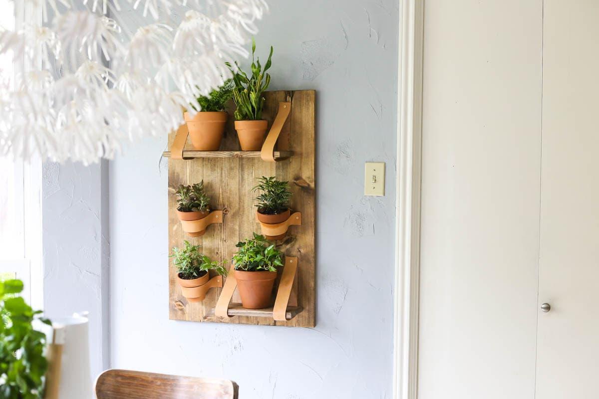 Vertical planter tutorial