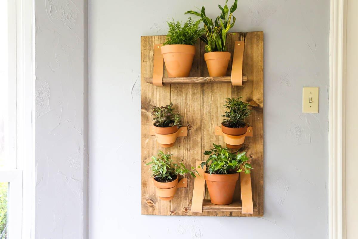 Easy Diy Wall Planter A Vertical Planter Love