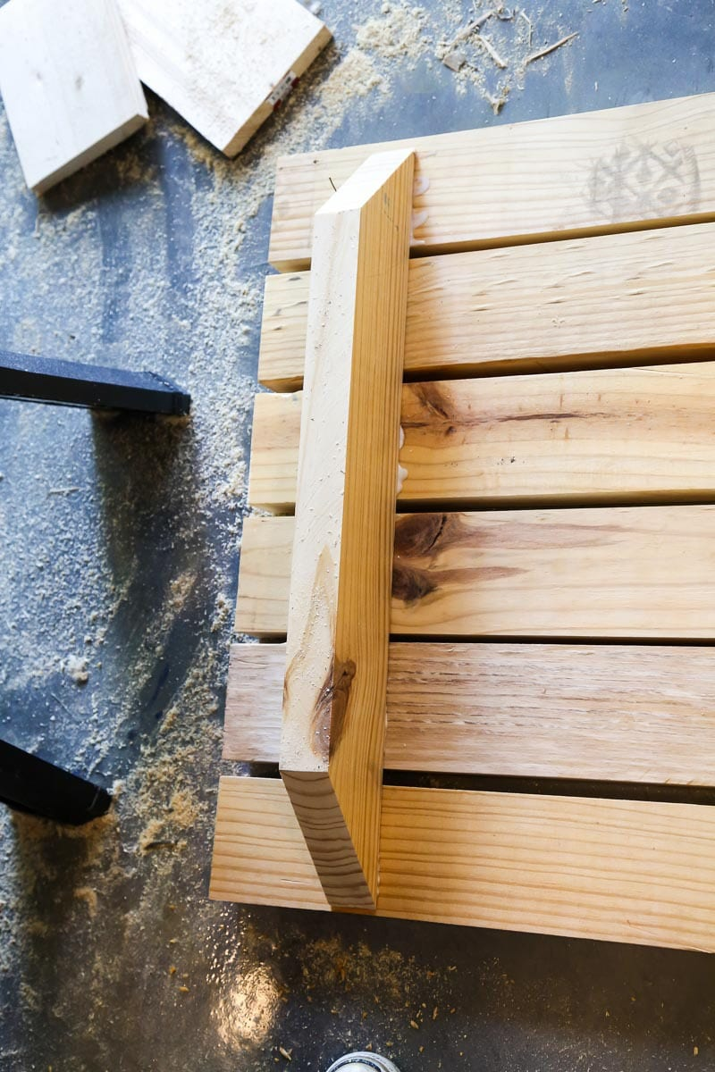 Easy DIY kids picnic table