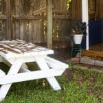 DIY Kid Picnic Table