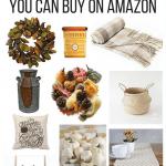 Gorgeous Fall Decor on Amazon