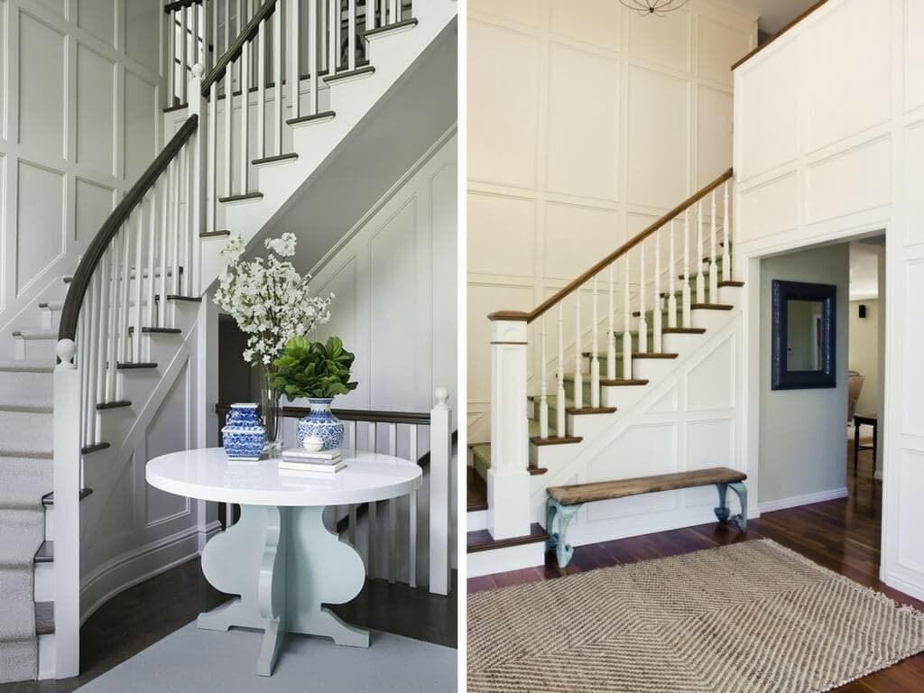 Ideas for how to decorate a staircase