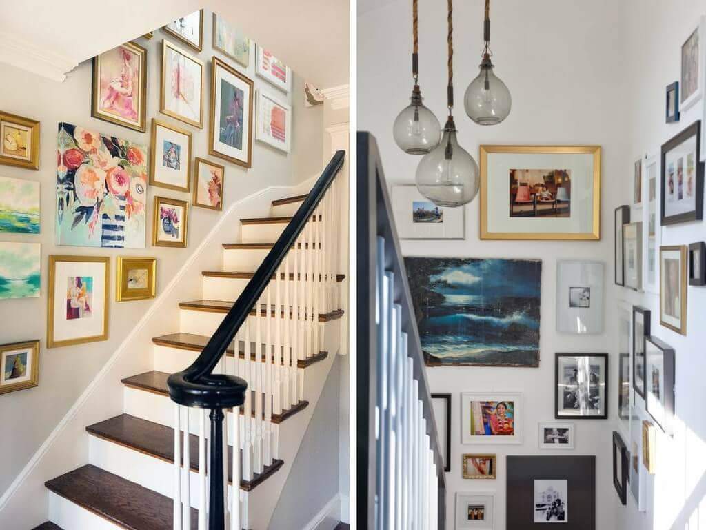 Wall Colour Inspiration: How To Decorate A Staircase