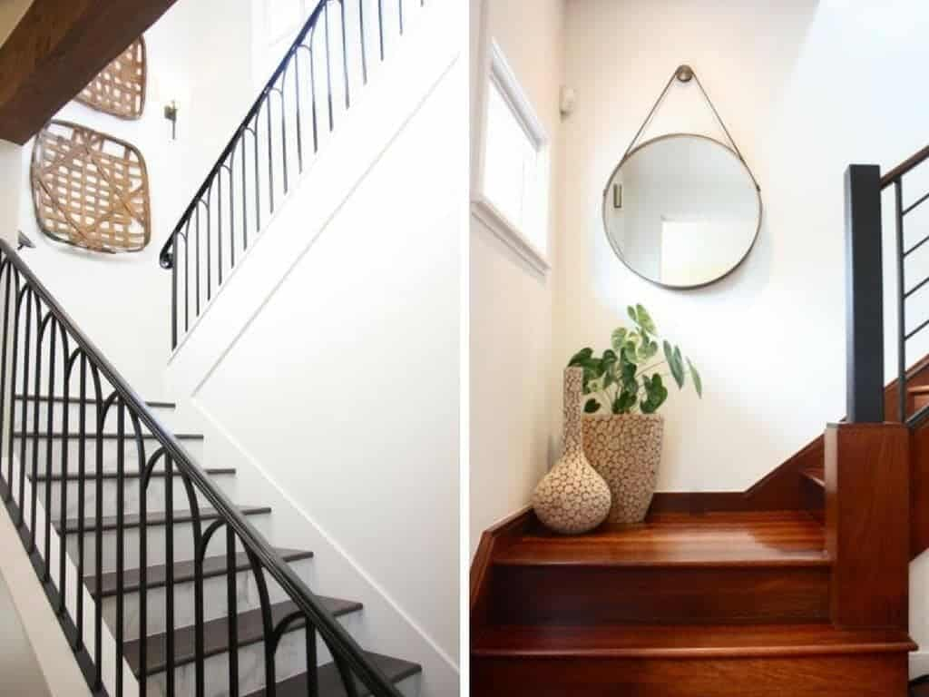 How to Decorate A Staircase | Love & Renovations