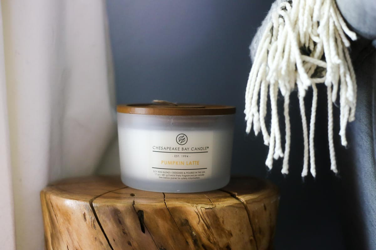 Using Chesapeake Bay Candles to make a cozy home