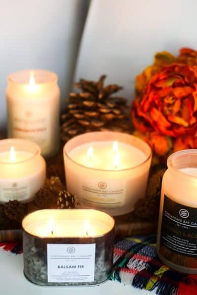 How to use candles to make your home feel like fall
