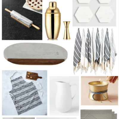 2017 Holiday gift guide - ideas for Christmas gifts for the friend who is a hostess, loves to entertain, and a foodie. Great gift ideas for the entertainer in your life this holiday season.