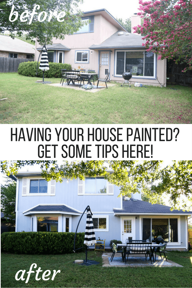 Wonderful Before And After Photos Of Having House Exterior Painted Professionally,  Ideas For What To Expect Awesome Ideas