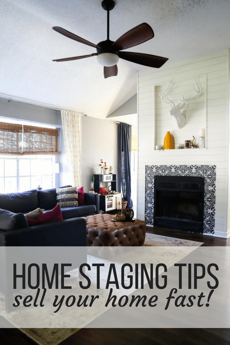 Home Staging Tips to Help it Sell Quickly // Love & Renovations