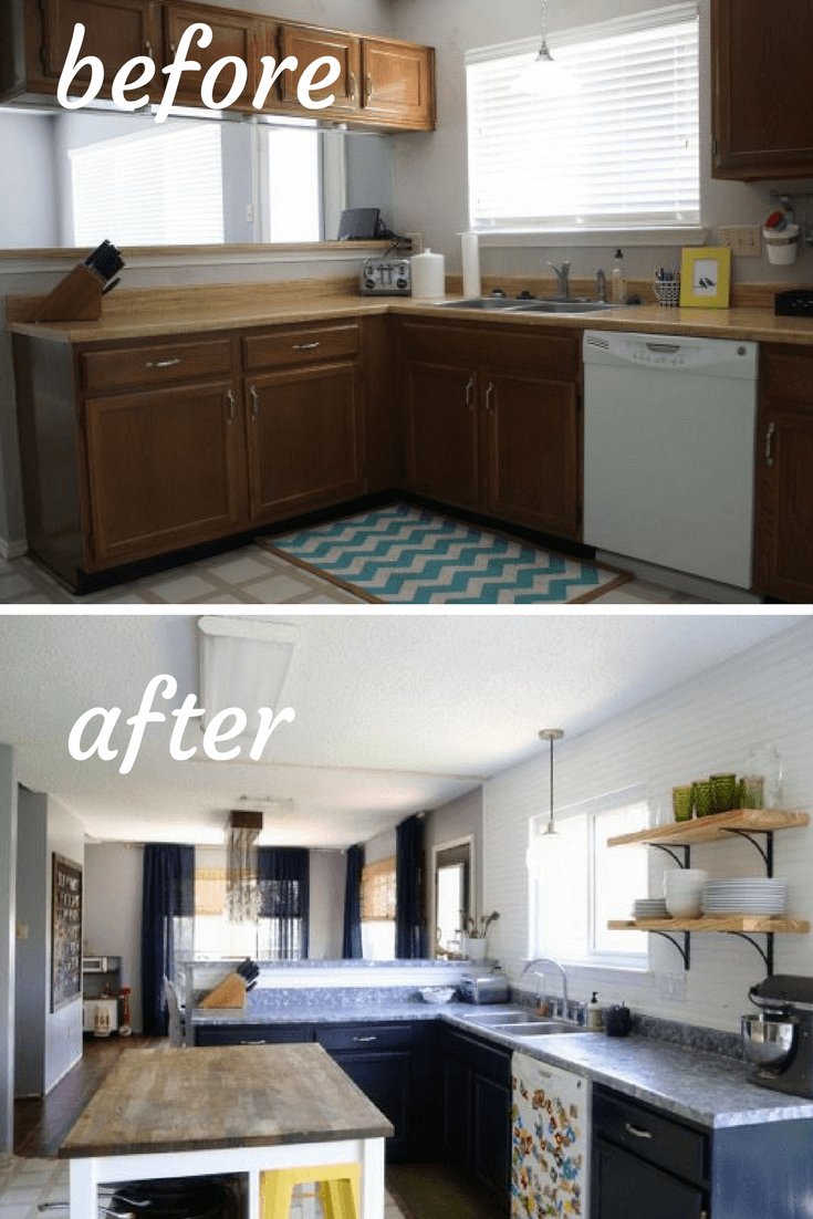 Our Kitchen Before After: Our Kitchen Before & After Photos