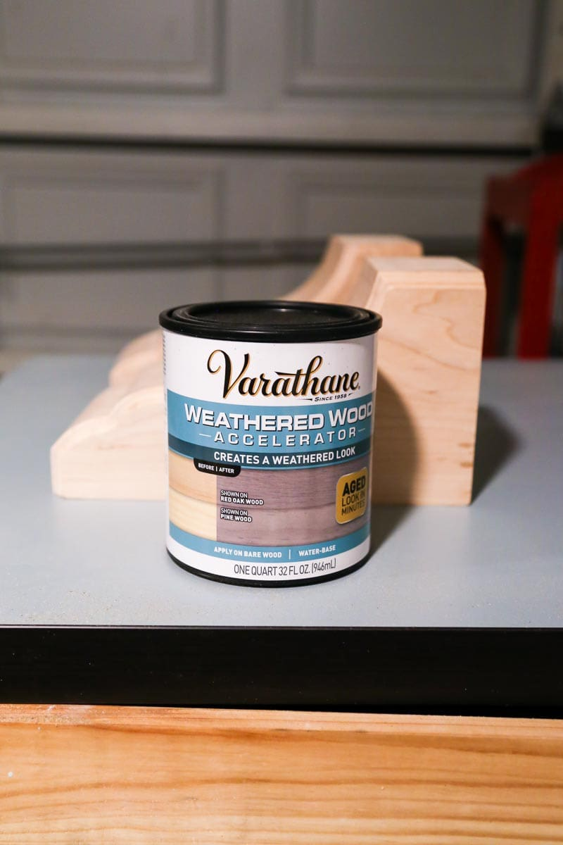 How to weather new wood quickly and easily