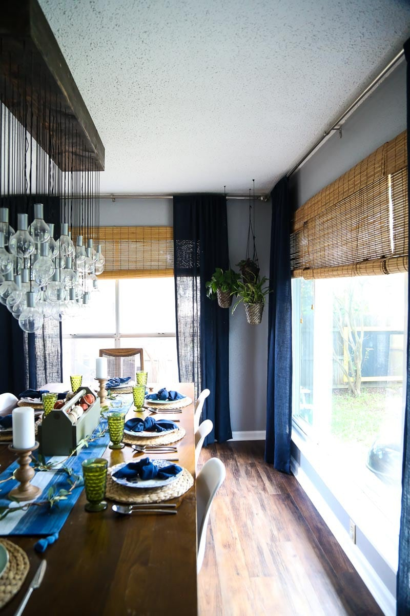 A look at a dining room renovation throughout the years