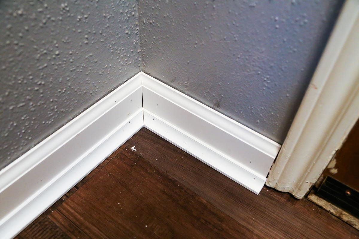 How To Install Baseboards A Diy Tutorial Love