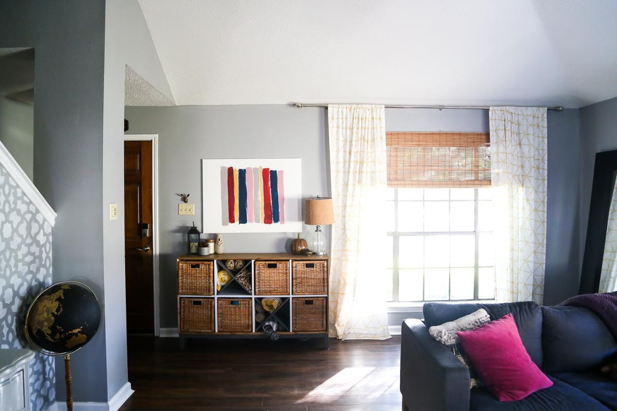 Our Living Room - Before & After | Love & Renovations